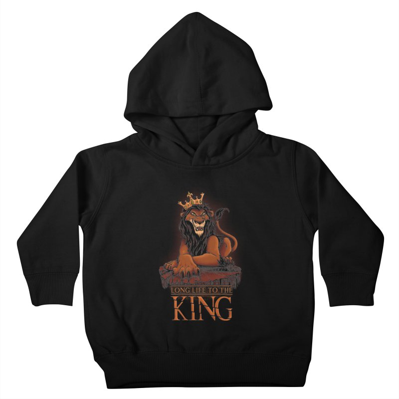 Long life to the King Kids Toddler Pullover Hoody by Red Bug's Artist Shop