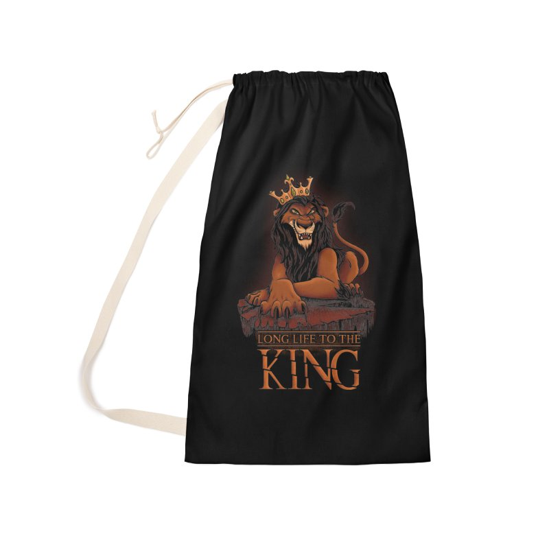 Long life to the King Accessories Bag by Red Bug's Artist Shop