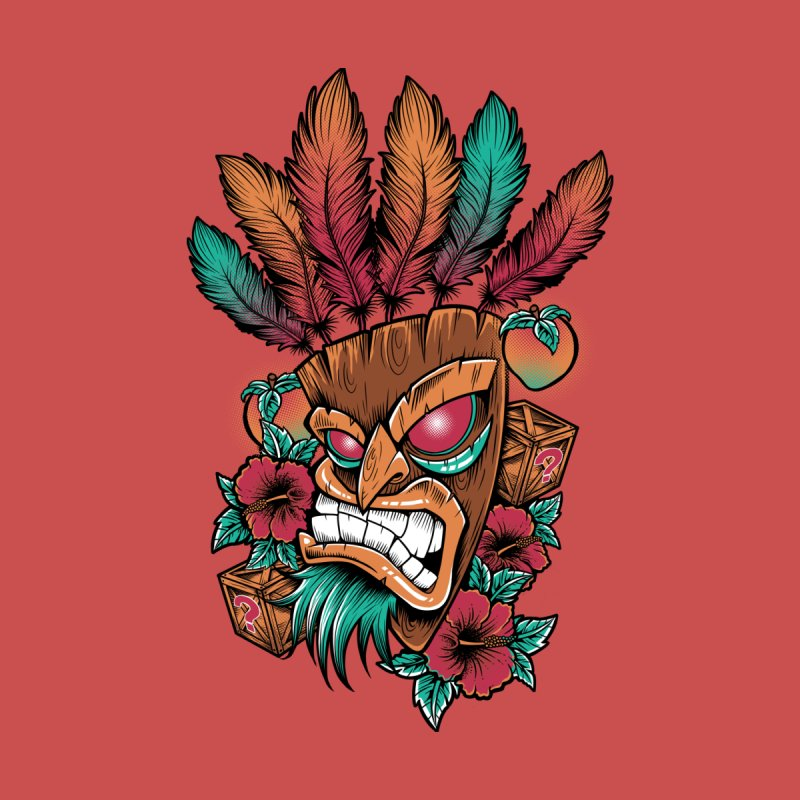 Aku Aku Men's T-Shirt by Red Bug's Artist Shop