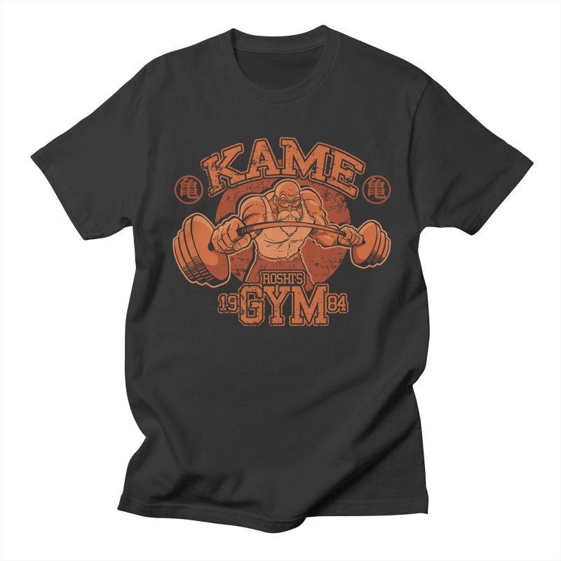 Kame's Gym in Men's Regular T-Shirt Smoke by Red Bug's Artist Shop