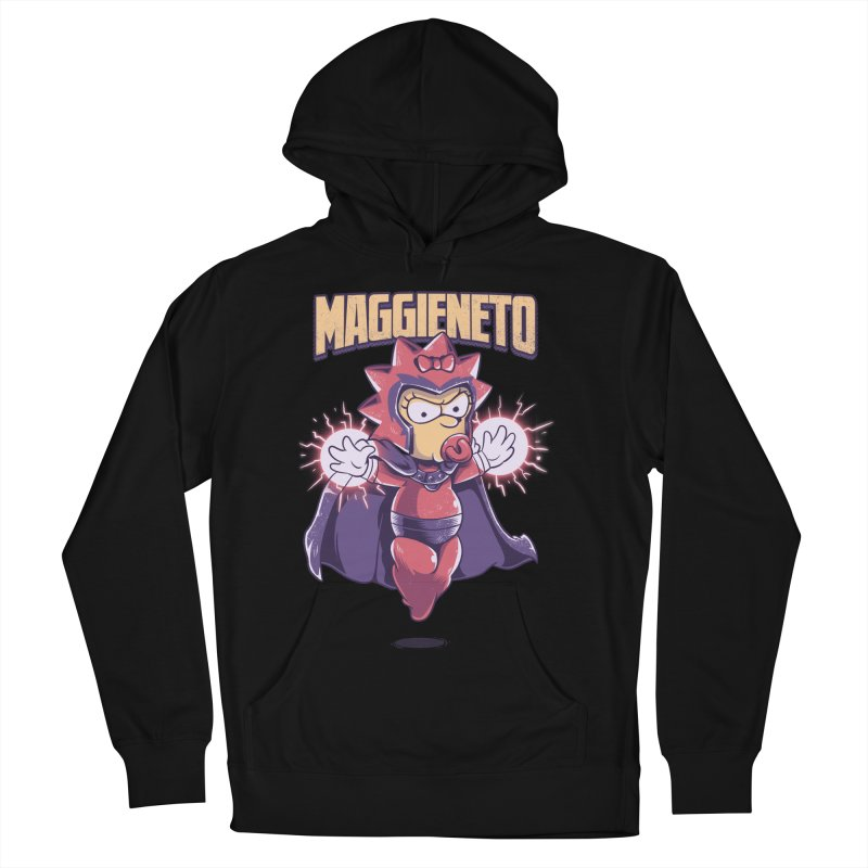 Maggieneto Men's French Terry Pullover Hoody by Red Bug's Artist Shop