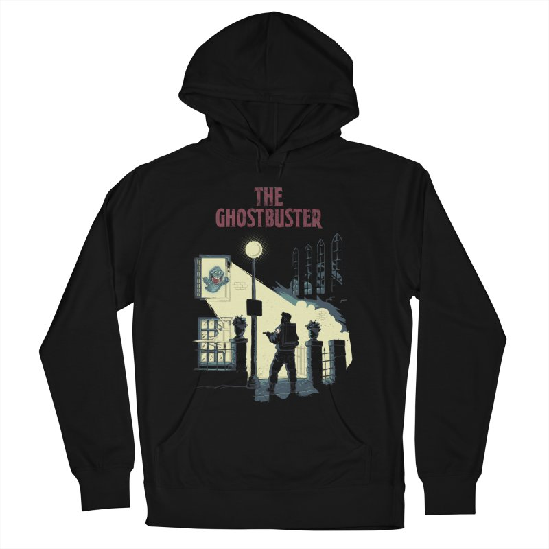 The Ghostbuster Men's French Terry Pullover Hoody by Red Bug's Artist Shop
