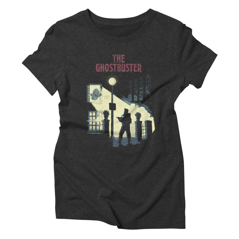 The Ghostbuster Women's Triblend T-Shirt by Red Bug's Artist Shop