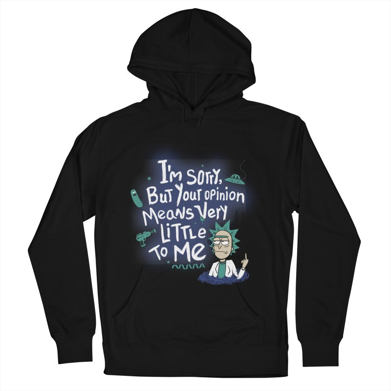 I Am Sorry Men's French Terry Pullover Hoody by Red Bug's Artist Shop