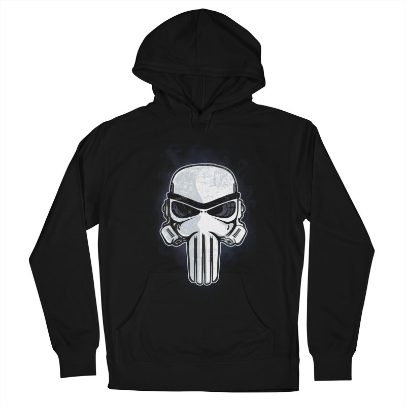 Storm Punisher Men's French Terry Pullover Hoody by Red Bug's Artist Shop