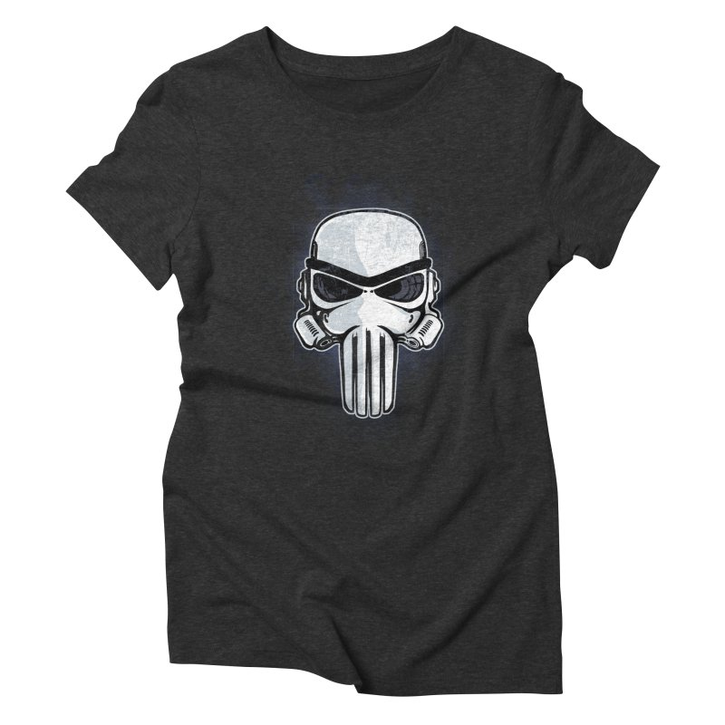 Storm Punisher Women's Triblend T-Shirt by Red Bug's Artist Shop
