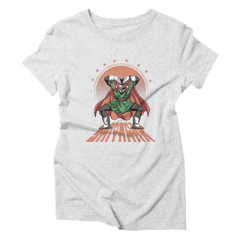 Great Saiyaman Women's Triblend T-Shirt by Red Bug's Artist Shop