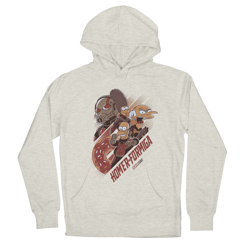 Homer-Formiga Men's French Terry Pullover Hoody by Red Bug's Artist Shop
