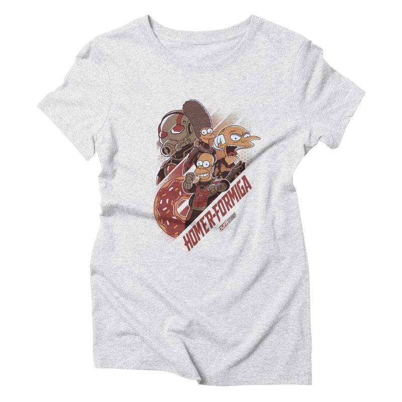 Homer-Formiga Women's Triblend T-Shirt by Red Bug's Artist Shop