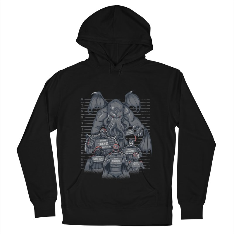 The Suspects Men's French Terry Pullover Hoody by Red Bug's Artist Shop