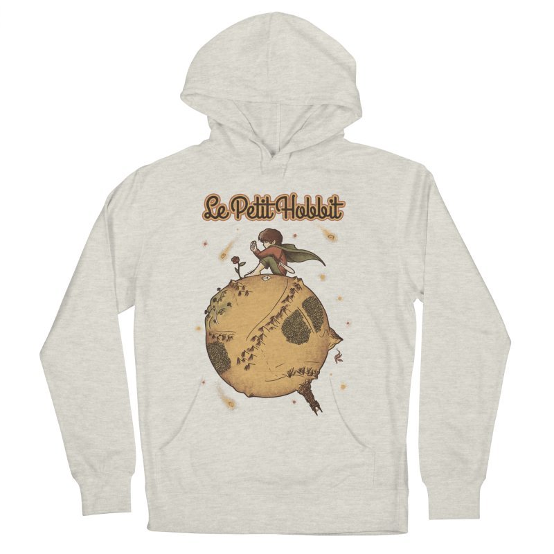 Le Petit Hobbit Men's French Terry Pullover Hoody by Red Bug's Artist Shop