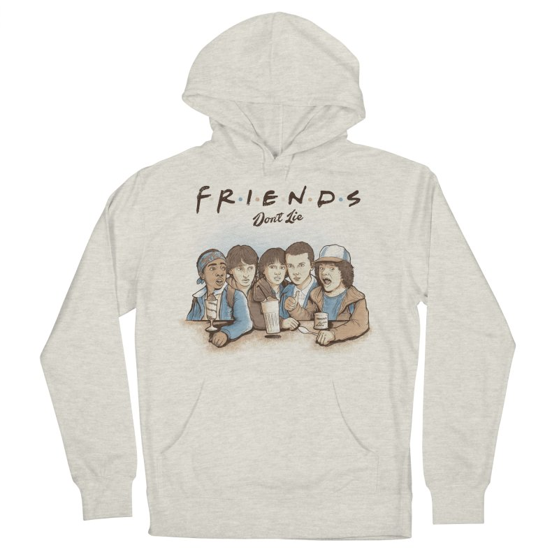 Friends Men's French Terry Pullover Hoody by Red Bug's Artist Shop