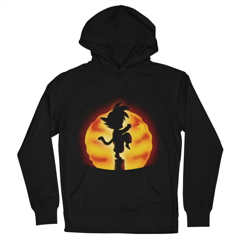 Dragon Kid Men's French Terry Pullover Hoody by Red Bug's Artist Shop