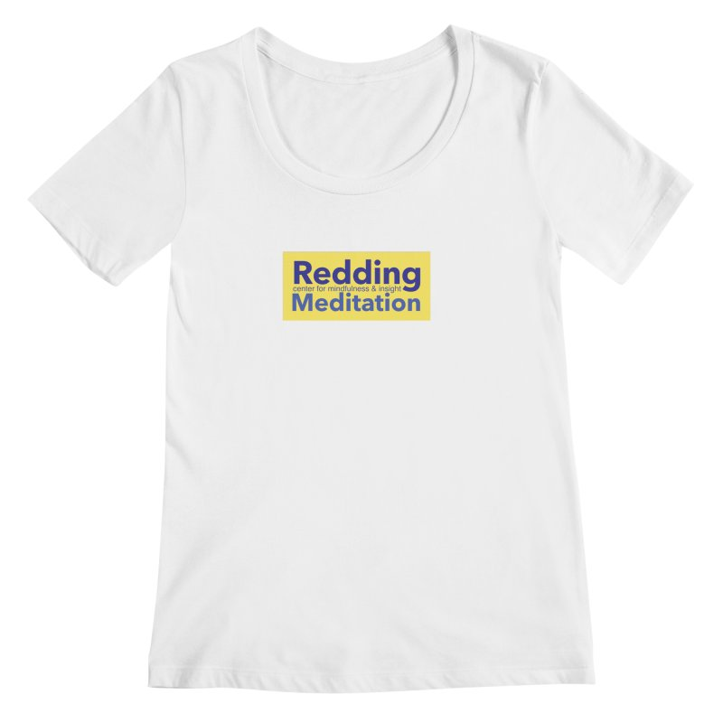 Redding Wear 1 Women's Scoopneck by reddingmeditation's Artist Shop