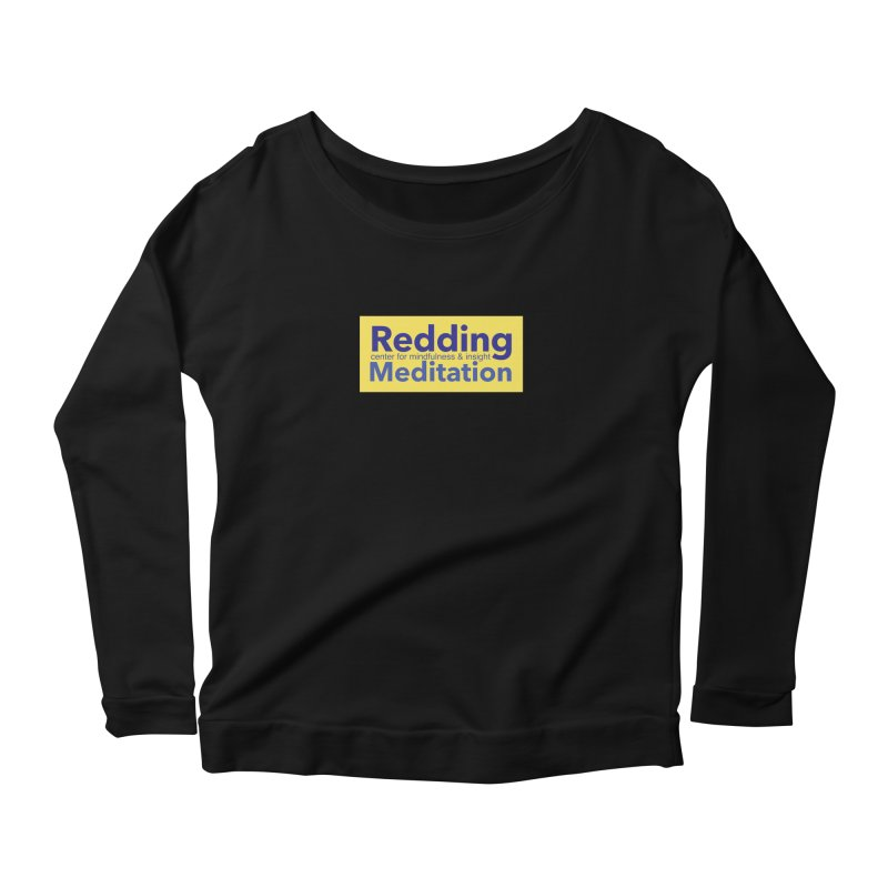 Redding Wear 1 Women's Scoop Neck Longsleeve T-Shirt by Redding Meditation's Artist Shop