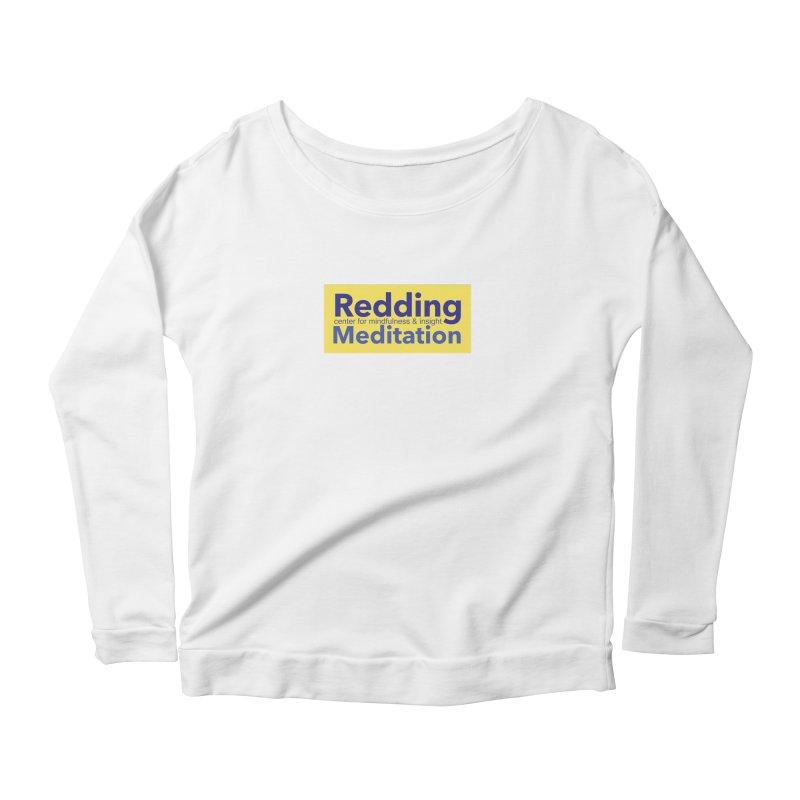 Redding Wear 1 Women's Scoop Neck Longsleeve T-Shirt by reddingmeditation's Artist Shop