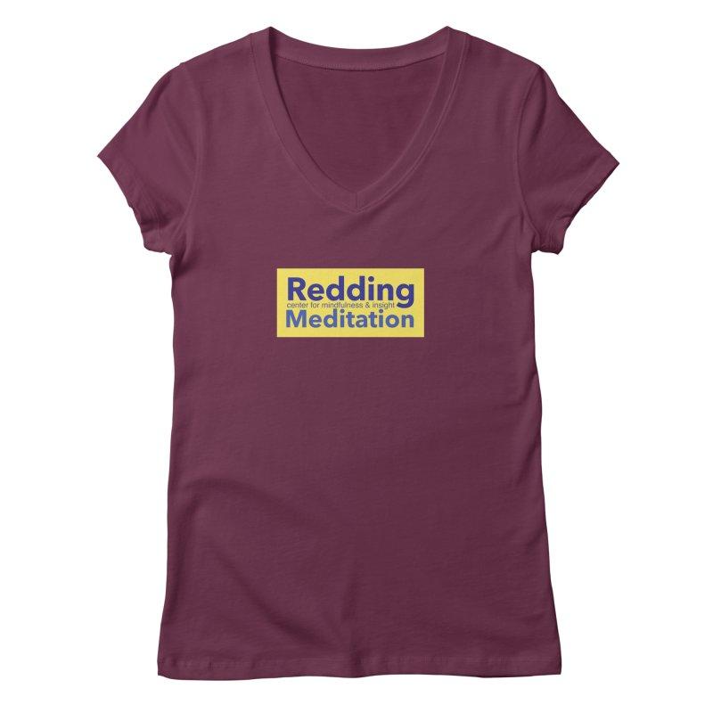 Redding Wear 1 Women's Regular V-Neck by reddingmeditation's Artist Shop