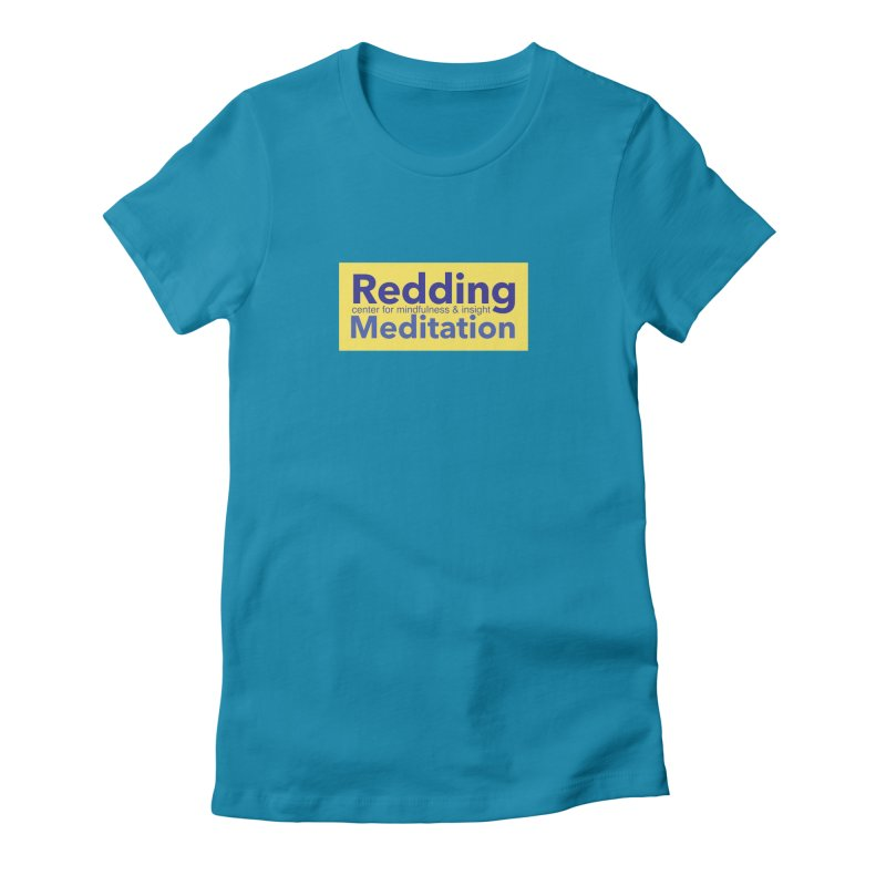 Redding Wear 1 Women's Fitted T-Shirt by Redding Meditation's Artist Shop