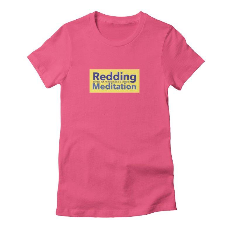 Redding Wear 1 Women's Fitted T-Shirt by reddingmeditation's Artist Shop
