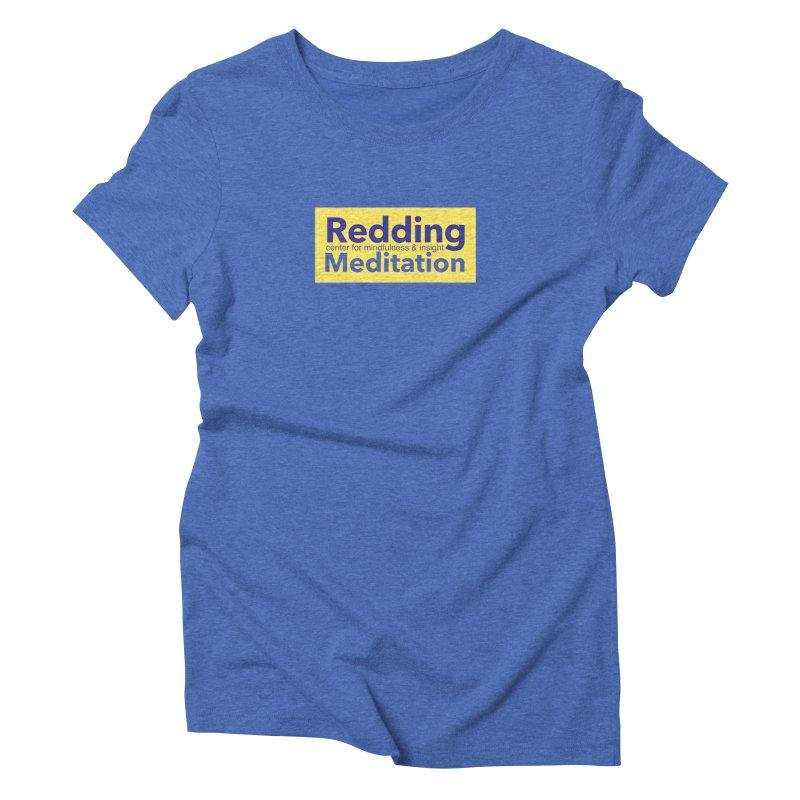 Redding Wear 1 Women's Triblend T-Shirt by reddingmeditation's Artist Shop