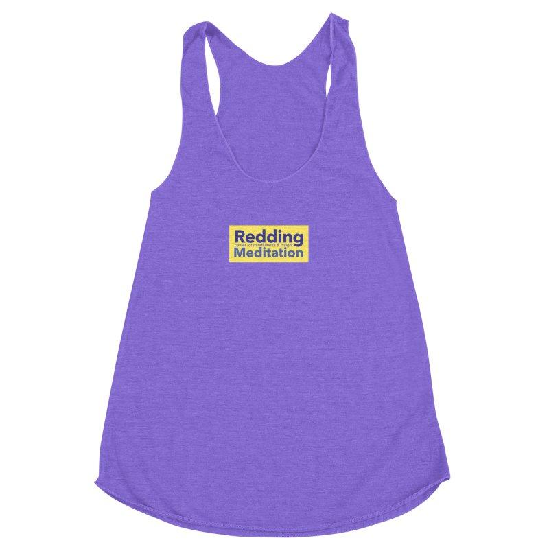 Redding Wear 1 Women's Racerback Triblend Tank by reddingmeditation's Artist Shop