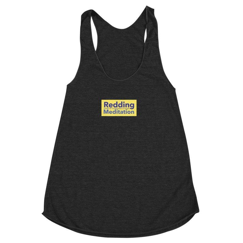 Redding Wear 1 Women's Racerback Triblend Tank by Redding Meditation's Artist Shop