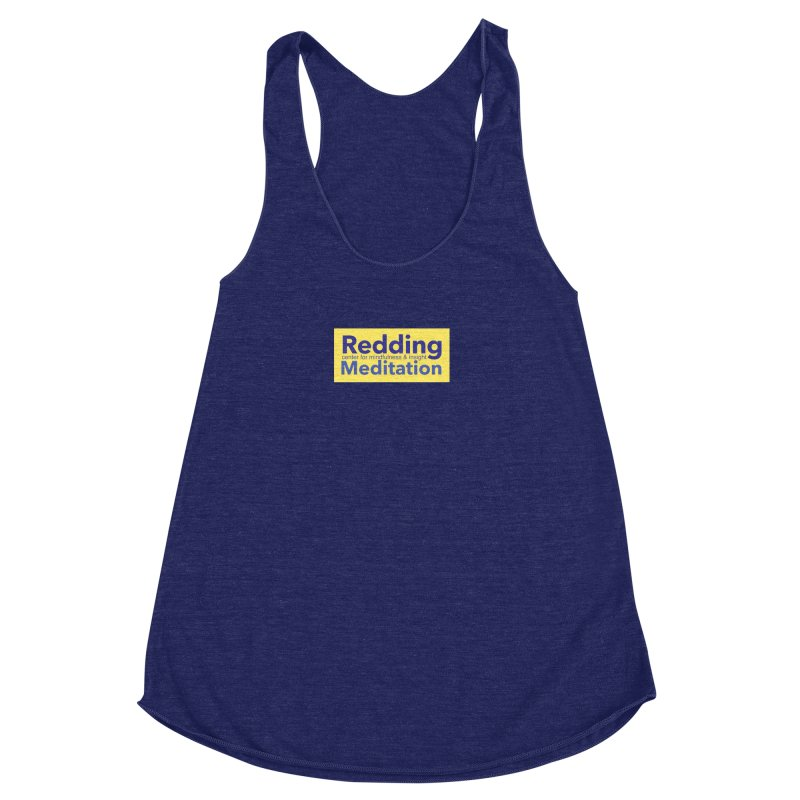 Redding Wear 1 Women's Racerback Triblend Tank by reddingmeditation's Artist Shop