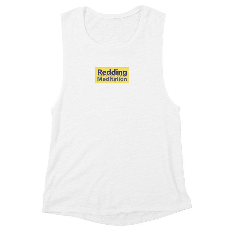 Redding Wear 1 Women's Muscle Tank by reddingmeditation's Artist Shop