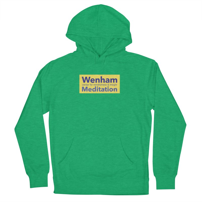 Wenham Wear 1 Women's French Terry Pullover Hoody by reddingmeditation's Artist Shop