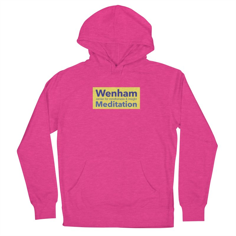 Wenham Wear 1 Men's French Terry Pullover Hoody by Redding Meditation's Artist Shop