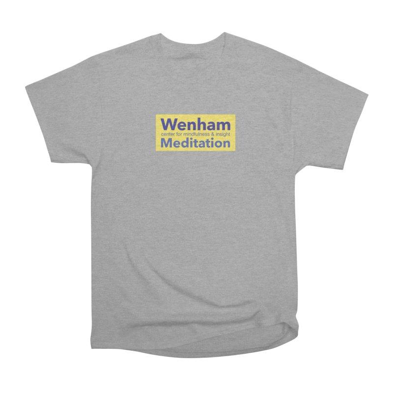 Wenham Wear 1 Men's Heavyweight T-Shirt by Redding Meditation's Artist Shop