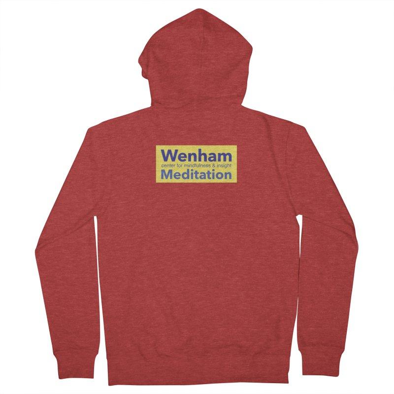 Wenham Wear 1 Women's French Terry Zip-Up Hoody by Redding Meditation's Artist Shop