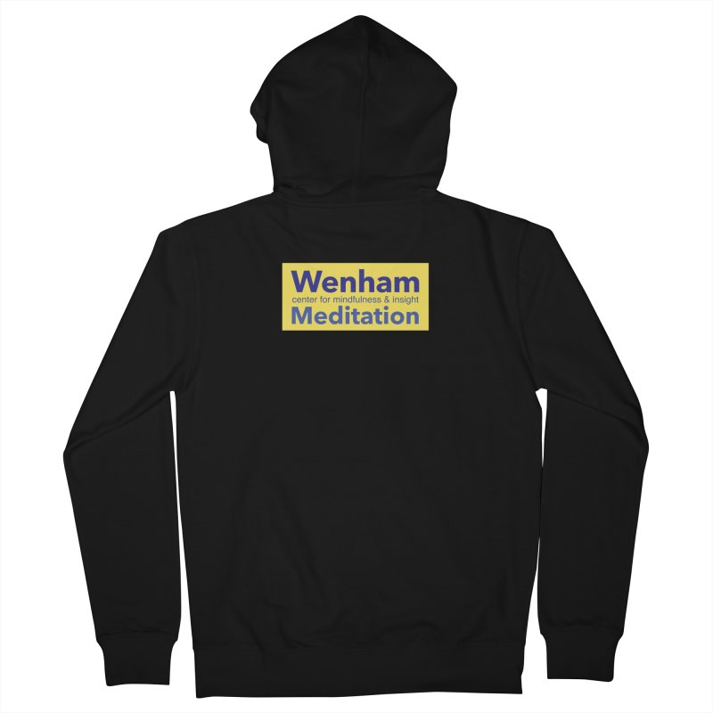Wenham Wear 1 Men's French Terry Zip-Up Hoody by reddingmeditation's Artist Shop