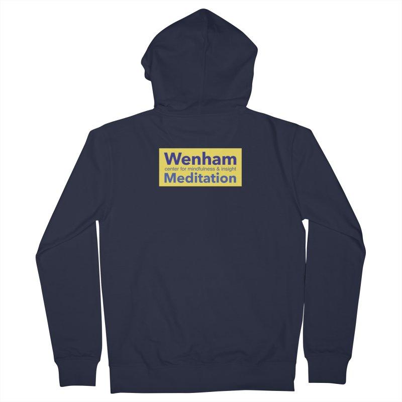 Wenham Wear 1 Men's French Terry Zip-Up Hoody by Redding Meditation's Artist Shop