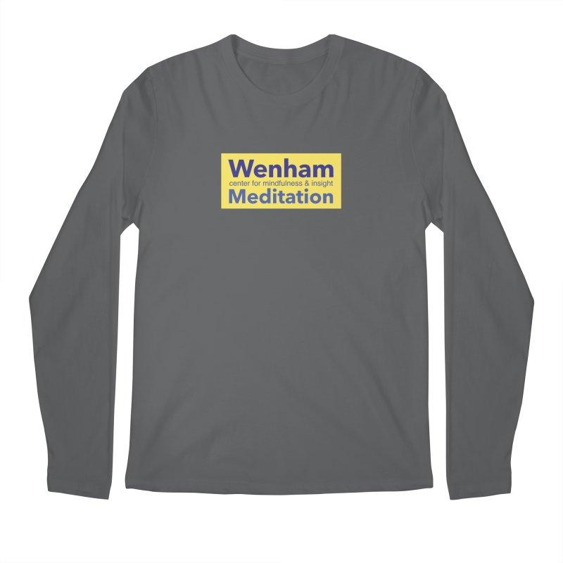 Wenham Wear 1 Men's Regular Longsleeve T-Shirt by Redding Meditation's Artist Shop