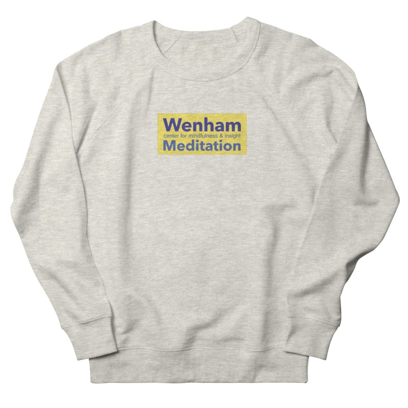 Wenham Wear 1 Men's French Terry Sweatshirt by Redding Meditation's Artist Shop