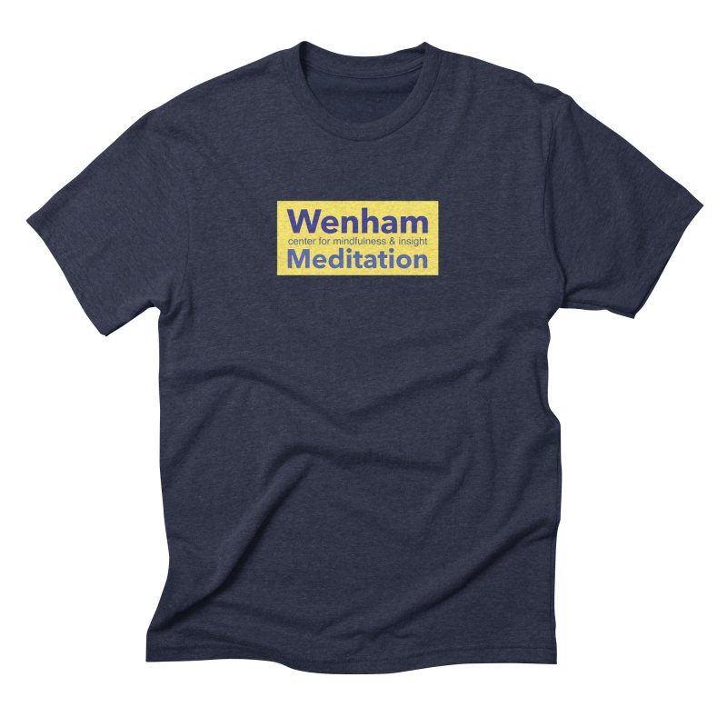 Wenham Wear 1 Men's Triblend T-Shirt by Redding Meditation's Artist Shop