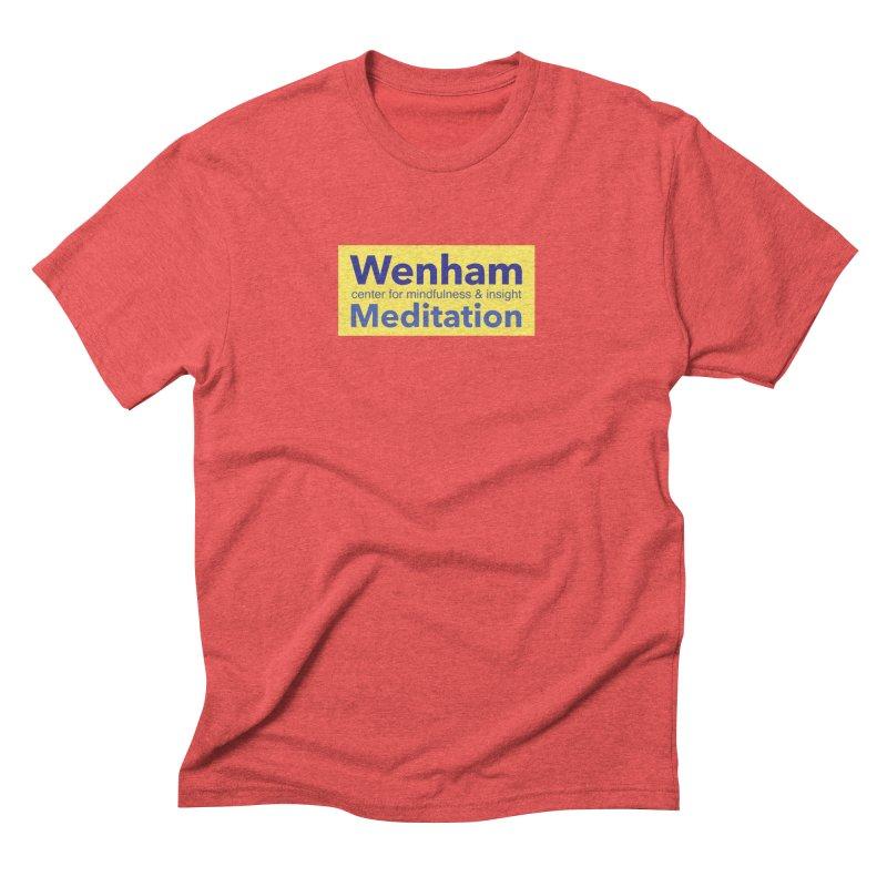 Wenham Wear 1 Men's Triblend T-Shirt by reddingmeditation's Artist Shop