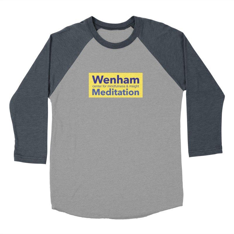 Wenham Wear 1 Men's Baseball Triblend T-Shirt by reddingmeditation's Artist Shop