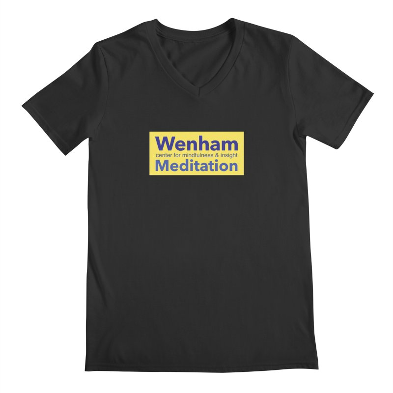 Wenham Wear 1 Men's Regular V-Neck by Redding Meditation's Artist Shop