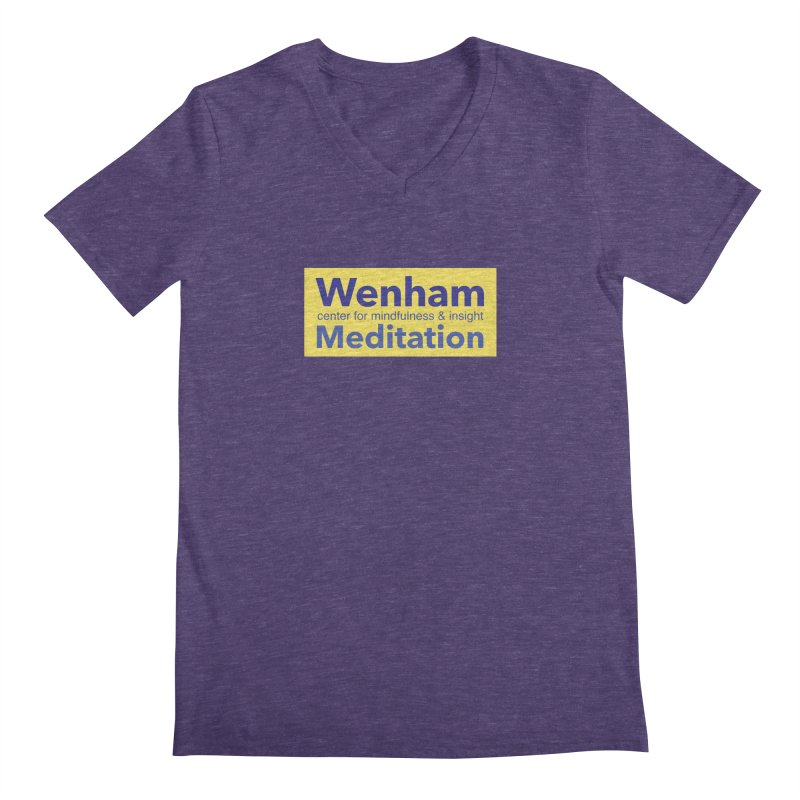Wenham Wear 1 Men's V-Neck by reddingmeditation's Artist Shop