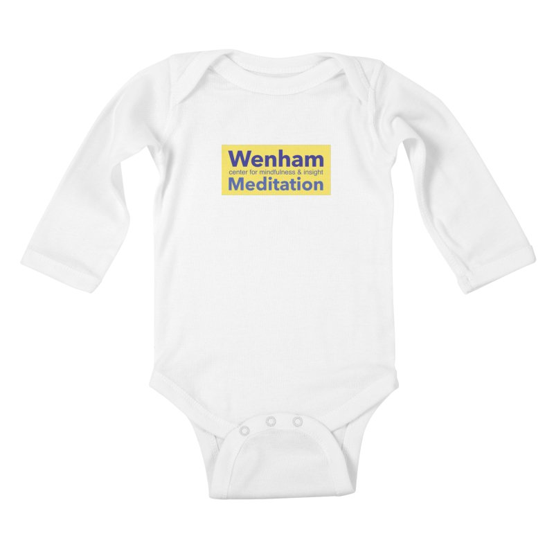 Wenham Wear 1 Kids Baby Longsleeve Bodysuit by Redding Meditation's Artist Shop