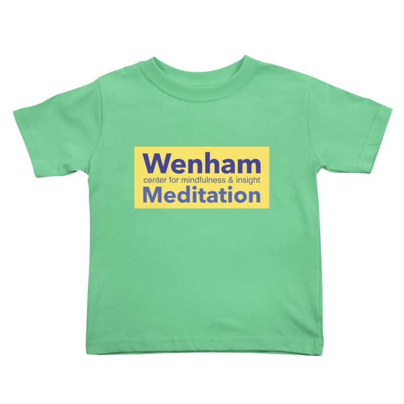 Wenham Wear 1 Kids Toddler T-Shirt by reddingmeditation's Artist Shop