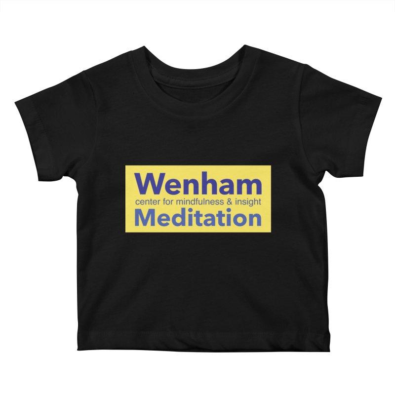 Wenham Wear 1 Kids Baby T-Shirt by Redding Meditation's Artist Shop