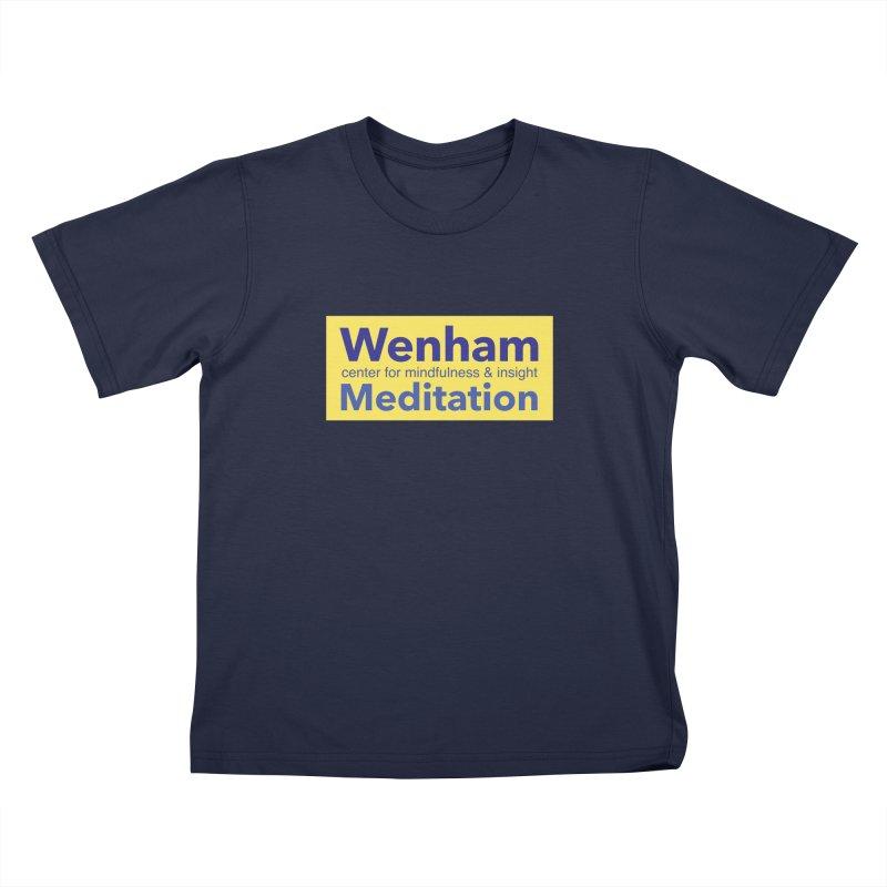 Wenham Wear 1 Kids T-Shirt by reddingmeditation's Artist Shop
