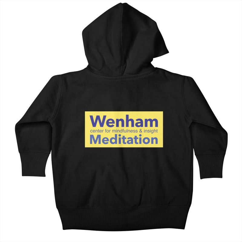 Wenham Wear 1 Kids Baby Zip-Up Hoody by reddingmeditation's Artist Shop