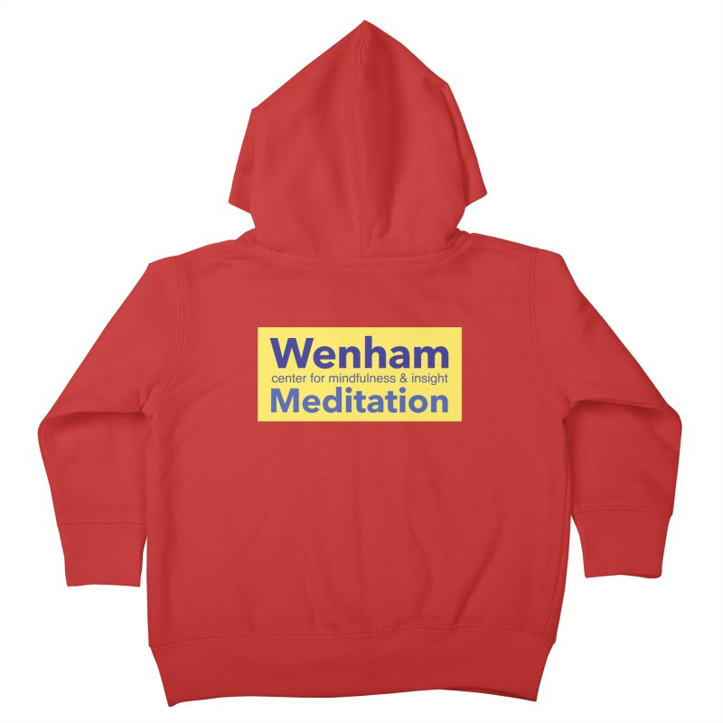 Wenham Wear 1 Kids Toddler Zip-Up Hoody by reddingmeditation's Artist Shop