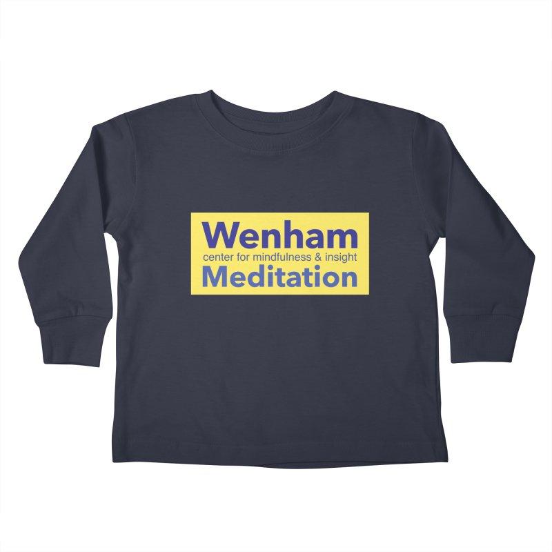Wenham Wear 1 Kids Toddler Longsleeve T-Shirt by Redding Meditation's Artist Shop