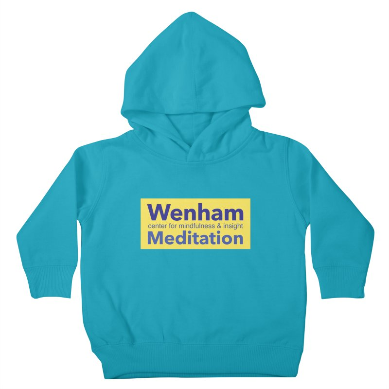 Wenham Wear 1 Kids Toddler Pullover Hoody by reddingmeditation's Artist Shop