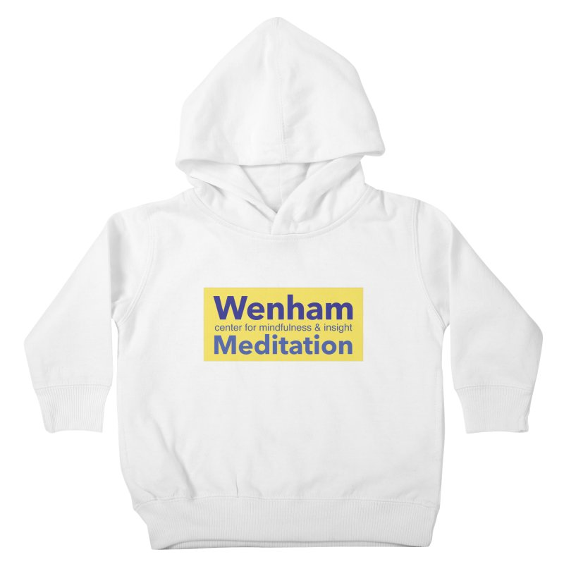 Wenham Wear 1 Kids Toddler Pullover Hoody by reddingmeditation's Artist Shop